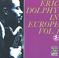 Обложка альбома «In Europe. Vol.1» (Eric Dolphy, 1989)
