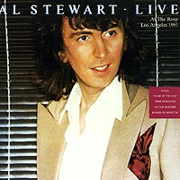 Обложка альбома «Live. At The Roxy Los Angeles 1981» (Al Stewart, 1997)