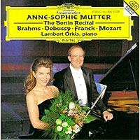 Обложка альбома «Anna-Sophie Mutter. Lambert Orkis. The Berlin Recital» (Anna-Sophie Mutter, Lambert Orkis, 2006)