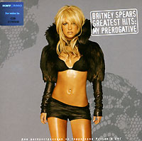 Обложка альбома «The Greatest Hits. My Prerogative» (Britney Spears, 2004)