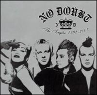 Обложка альбома «The Singles 1992 — 2003, No Doubt» (No Doubt, 2004)