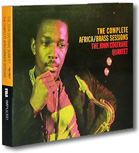 Обложка альбома «The John Coltrane Quartet. The Complete Africa. Brass Sessions» (John Coltrane, 1995)