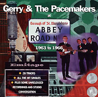 Обложка альбома «At Abbey Road 1963-1966» (Gerry & The Pacemakers, 1997)
