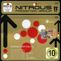 Обложка альбома «Nitrousound Electro Mixed By DJ Los'ь» (2006)