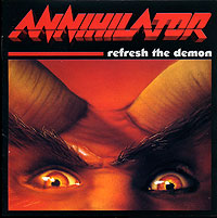 Обложка альбома «Refresh The Demon» (Annihilator, 2002)