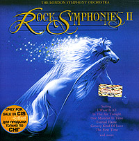 Обложка альбома «Rock Symphonies Vol. II» (The London Symphony Orchestra, 1989)