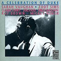Обложка альбома «Vaughan. Terry. Sims. Pass. Jackson. Brown. Roker. A Celebration Of Duke» (Vaughan, Terry, Sims, Pass, Jackson, Brown, Roker, 1990)