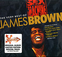 Обложка альбома «Sex Machine. The Very Best Of» (James Brown, 2005)