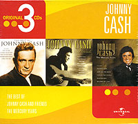 Обложка альбома «The Best Of. Johnny Cash And Friends. The Mercury Years» (Johnny Cash, 2003)