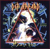 Обложка альбома «Hysteria» (Def Leppard, 1987)
