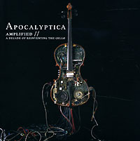 Обложка альбома «Amplified — A Decade Of Reinventing The Cello» (Apocalyptica, 2006)
