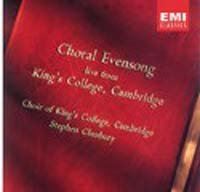 Обложка альбома «Evensong At King's College» (King's College Choir, ????)