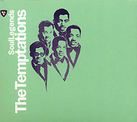 Обложка альбома «Soul Legends. The Temptations» (The Temptations, 2006)