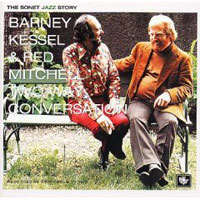 Обложка альбома «Barney Kessel & Red Mitchell. Two Way Conversation» (Barney Kessel, Red Mitchell, 2006)