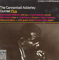 Обложка альбома «The Cannonball Adderly Quintet PLUS» (Cannonball Adderley, 1987)
