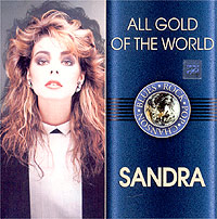 Обложка альбома «All Gold Of The World. Sandra» (Sandra, 2003)
