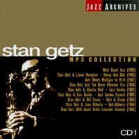 Обложка альбома «Jazz Archives. Stan Getz. MP3 Collection» (Stan Getz, 2003)