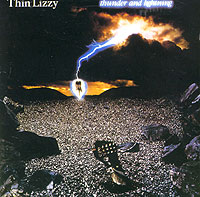 Обложка альбома «Thunder And Lightning» (Thin Lizzy, 1983)