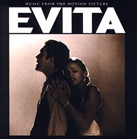 Обложка альбома «Evita. Music From The Motion Picture» (Madonna, 1996)