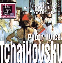 Обложка альбома «Selected pieces from «Swan Lake» and «Nutckracker»» (Pyotr Ilyich Tchaikovsky, 1998)