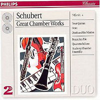 Обложка альбома «Schubert. Great Chamber Works. Beaux Arts Trio» (Beaux Arts Trio, 2006)