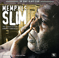 Обложка альбома «The Changeless Excitement Of Europe's Own Blues Wanderer» (Memphis Slim, 2005)