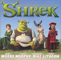 Обложка альбома «Shrek: Music From The Original Motion Picture» (2001)