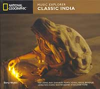 Обложка альбома «Classic India. Music Explorer» (National Geographic, 2004)