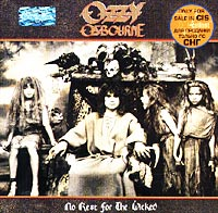 Обложка альбома «No Rest for the Wicked» (Ozzy Osbourne, 1988)