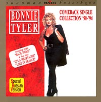 Обложка альбома «Comeback: Single Collection «90-«94» (Bonnie Tyler, 1994)