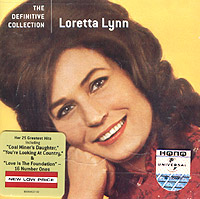 Обложка альбома «The Definitive Collection» (Loretta Lynn, 2005)
