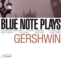 Обложка альбома «Blue Note Plays Gershwin» (2006)