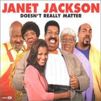Обложка альбома «Doesn't Really Matter» (Janet Jackson, 2006)