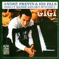 Обложка альбома «Gigi» (Andre Previn & His Pals, 1999)