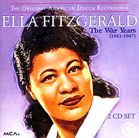 Обложка альбома «The War Years» (Ella Fitzgerald, 1994)