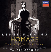 Обложка альбома «Homage. The Age Of The Diva» (Renee Fleming, 2006)