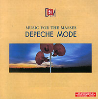 Обложка альбома «Music For The Masses» (Depeche Mode, 1987)