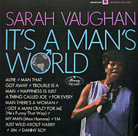 Обложка альбома «It's A Man's World» (Sarah Vaughan, 2002)