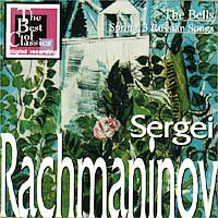 Обложка альбома «The Bells, Spring, 3 Russian Songs» (Sergei Rachmaninov, 2001)