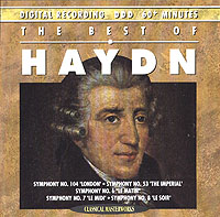 Обложка альбома «The Best Of» (Haydn, 1993)