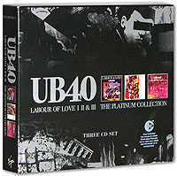 Обложка альбома «Labour Of Love I, II & III. The Platinum Collection» (UB40, 2003)