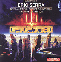 Обложка альбома «The Fifth Element. Original Motion Picture Soundtrack» (Eric Serra, 1997)