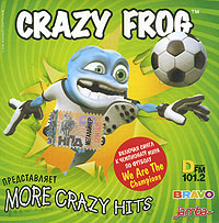 Обложка альбома «More Crazy Hits» (Crazy Frog, 2006)