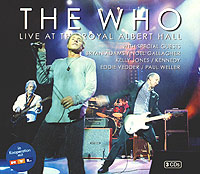Обложка альбома «Live At The Royal Albert Hall» (The Who, 2003)