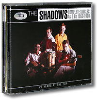 Обложка альбома «Complete Singles As & Bs 1959-1980» (The Shadows, 2004)