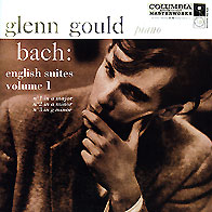 Обложка альбома «Bach. The English Suites. Vol. 1» (Glenn Gould, 2002)