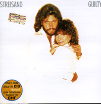 Обложка альбома «Barbra Streisand. Guilty» (Barbra Streisand, Barry Gibb, 1980)