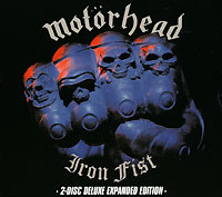 Обложка альбома «Iron Fist. 2-Disk Deluxe Expanded Edition» (Motorhead, 2005)