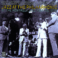 Обложка альбома «Jazz At The Philharmonic At The Montreux Jazz Festival 1975» (1997)