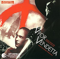 Обложка альбома «V For Vendetta. Music From The Motion Picture» (2006)